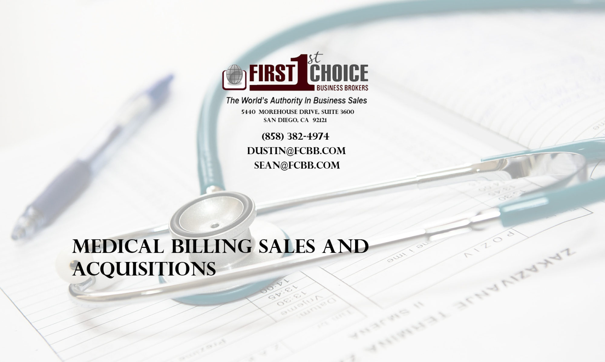 Medical Billing Sales And Acquisitions